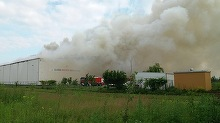 Adevarul nespus despre incendiul din Ilfov! Arde cea mai mare arhiva bancara din Romania - Nici acum, la 40 de ore de la izbucnire, focul nu a fost stins