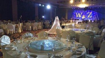Au chemat peste 300 de oameni la nunta lor, dar nu a venit nimeni - Reactia emotionanta a miresei cand a vazut sala goala