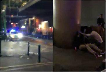 """El e romanul care i-a infruntat pe teroristii din Londra. A surprins imagini socante imediat dupa atentat: """"Taie lumea pe strada! Fereasca Dumnezeu ce e aici"""""""