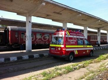Copilul de 12 ani din Buzau care s-a electrocutat dupa ce s-a urcat pe tren a murit