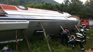 Dezvaluire de ultima ora! Cine se afla in autocarul rasturnat in drum spre Rasnov - Este o tragedie!