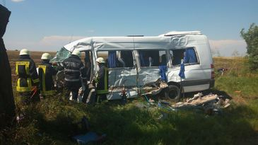 Una din cele 14 persoane ranite in accidentul din Teleorman a murit la spital