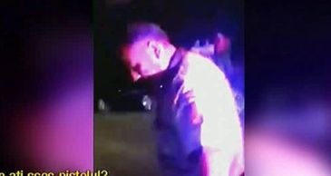 Scene de groaza in Pitesti.  Un sofer a fost amenintat cu pistolul, scos cu forta din masina si smucit in plina strada. Totul s-a intamplat dupa o urmarire ca-n filme