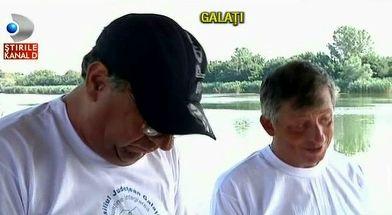 15 nevazatori din Galati au participat la un concurs de pescuit