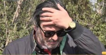 """Cornel Gales, scandal urias cu femeia care spala mormantul Ilenei Ciuculete! """"Data viitoare, chem Politia!"""""""