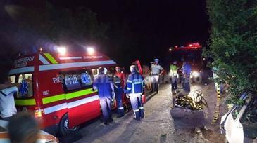 Accident cumplit in Buzau! Doua persoane au murit, iar alte cinci au fost ranite