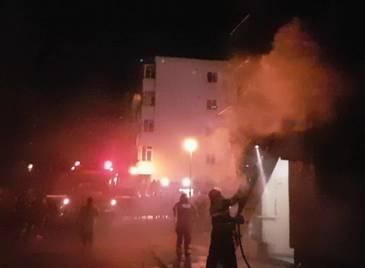 Fetita carbonizata in apartamentul din Constanta a fost injunghiata in inima inainte de incendiu. Detalii socante din ancheta