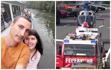 Ei sunt 2 dintre cei 5 romani care au murit in accidentul din Austria! Ionut si Ioana se intorceau in tara ca sa-si cunune finii!
