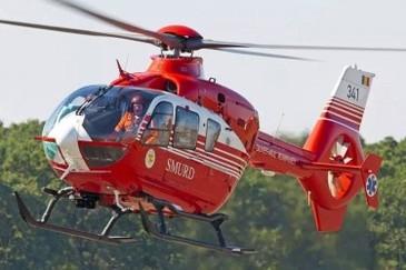 Constanta: Unul dintre ranitii din accident, preluat de elicopterul SMURD, in coma