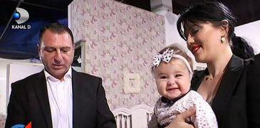"Imagini adorabile cu fetita de 7 luni a lui Christian Sabbagh: ""E o printesica mica, trebuie sa o rasfatam"""