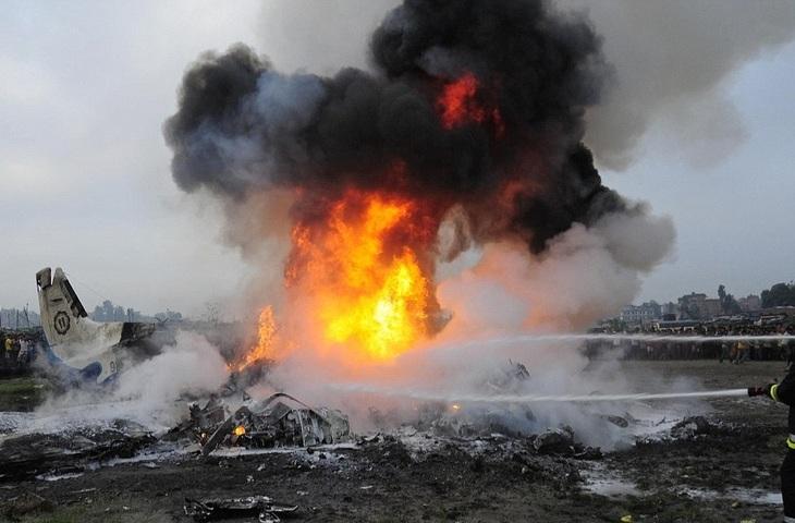 Accident aviatic in Spania. Un avion s-a prabusit imediat dupa decolare. Autoritatile cauta supravietuitori