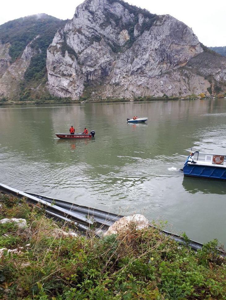 Femeia care a fost gasita moarta, dupa accidentul din Dunare, a fost inmormantata de autoritatile sarbe
