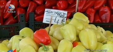 Taranii din Constanta cumpara legume si fructe en-gros, dar le vand ca si cum le-ar fi cules din gradinile lor