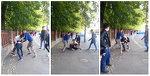 Bataie in fata unui colegiu national din Craiova! Doi adolescenti au lovit cu pumnii si picioarele un alt baiat