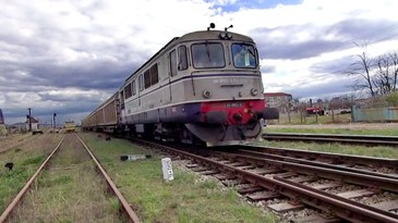 Traficul feroviar pe ruta Cluj - Bucuresti, blocat in urma unui accident, a fost reluat
