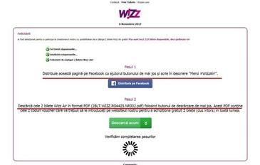 Pacaleala cu bilete de avion gratuite in numele Wizz Air. Mii de oameni au ramas fara bani dupa ce au dat share unei false postari! Cum reactioneaza compania