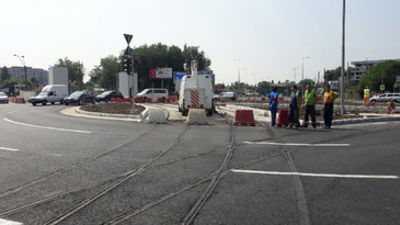 Un tramvai a deraiat la Piata Sudului din Capitala. Anuntul facut de RATB