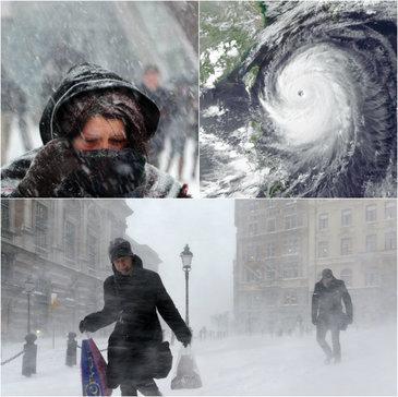 Avertizarea facuta de meteorologi pentru Romania! Ce se va intampla cand cand ciclonul Olaf se va lovi de ciclonul Numa, duminica seara?