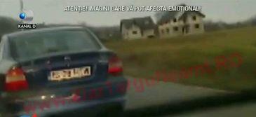 In loc sa franeze, a apasat acceleratia! Un tanar din Targu Neamt, urmarit ca in filme de politisti!