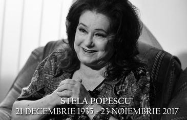 Dezvaluiri uluitoare, Stela Popescu a mai fost la un pas de moarte in urma cu trei ani! Dupa un spectacol, actrita a  fost luata cu ambulanta, dusa de urgenta la spital si operata