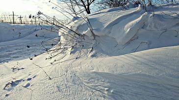Ninge ca in povesti la Ranca! Autoritatile gorjene au pus in functiune utilajele de deszapezire!