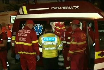 Sapte masini, implicate intr-un accident in Capitala! Doua persoane, ranite usor