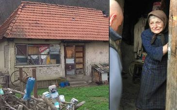 Povestea sfasietoare a acestei batrane din Hunedoara. Singura, batrana si bolnava, Rozalia abia supravietuieste saraciei si singuratatii