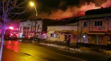 Noapte de cosmar in Timisoara! Iadul s-a dezlantuit - O persoana a murit arsa de vie