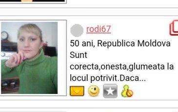 Un italian care isi cauta iubita pe internet a fost inselat de Rodica, o moldoveanca vaduva