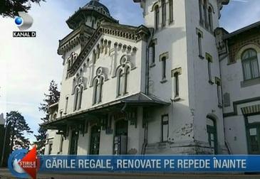 Garile regale au intrat in renovare cu cateva zile inaintea inhumarii regelui Mihai!