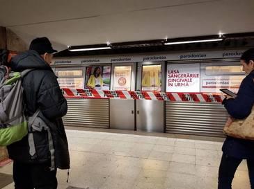 Scene dramatice la metrou! O tanara in varsta de 25 de ani a murit!