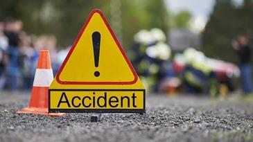 Accident grav in Calarasi dupa ce un autoturism si un microbuz plin s-au ciocnit
