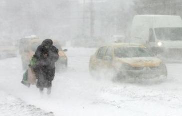 Termometrele au aratat aseara -48 de grade Celsius intr-un oras din Siberia