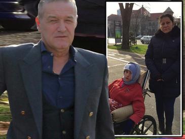 Povestea fabuloasa a familiei Stoian, ajutata de Gigi Becali! Fiul e paralizat si a ramas si fara casa!