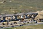 Autostrada Sebes Turda s-a stricat inainte sa se circule pe ea - Procesul de receptie a fost suspendat