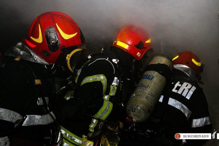 Incendiu la Centrala Electrica si de Termoficare Sud din Capitala; a fost intrerupta alimentarea cu energie electrica