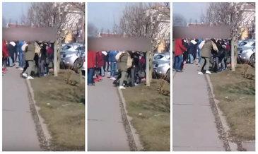 """Doua eleve din Alba Iulia s-au batut dupa ce au iesit de la scoala: """"Nu am mai vazut asa ceva"""""""