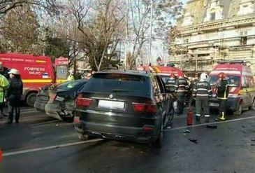 "Barbatul drogat la volan, care a provocat un accident in lant in Capitala, declaratii halucinante: ""Voiam sa imi excit nevasta!"""