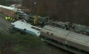 Tragedie feroviara in SUA! Doi oameni au murit iar numarul ranitilor se apropie de suta!