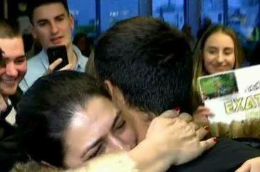 Ea este iubita lui Bogdan de la Exatlon! Care au fost primele cuvinte pe care le-a spus dupa ce l-a imbratisat pe aeroport!