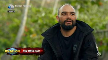"""EXATLON 12 februarie. Ion Oncescu, adevarul despre Giani Kirita! Deranjat de atitudinea colegilor, campionul a dat cartile pe fata: """"Pe mine ma scoate din sarite. Toti s-au schimbat aici"""""""