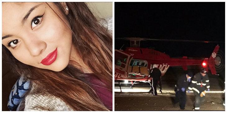 Andrea a fost gasita plina de sange, pe marginea drumului. Cand au auzit ultimele cuvinte ale fetei, politistii au incremenit