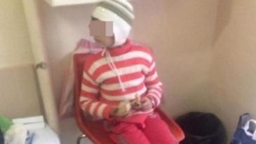 Imaginile durerii! Petronela, micuta bolnava de cancer pe care parintii au refuzat sa o trateze, a fost condusa pe ultimul drum