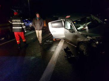 Accident terifiant pe Valea Oltului. Patru persoane au fost ranite