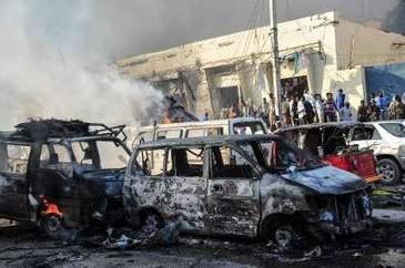 Doua atentate sangeroase au lovit in capitala Somaliei! Sunt cel putin 38 de morti confirmati deja!