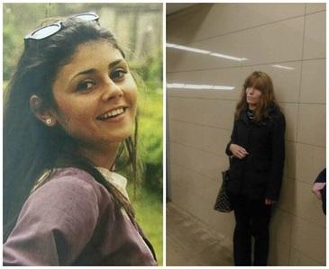 Mama adoptiva a Alinei Ciucu aprinde in fiecare dimineata o lumanare la mormantul fetei ucise la metrou! Vezi aici cum arata Gabriela, mama adoptiva a tinerei FOTO