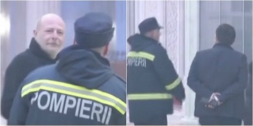 Momente de panica la Parlament, dupa ce un fum gros a inundat holurile cladirii