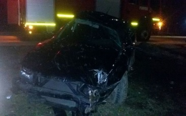 Accident mortal in Tismana. Un tanar, in varsta de 19 ani, a decedat, dupa ce a intrat cu masina in gardul unei gospodarii