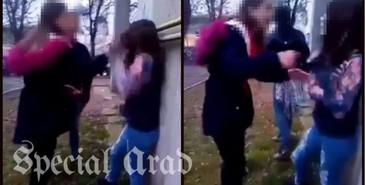 O fata a fost batuta cu bestialitate de doua adolescente, din cauza unui baiat, in Arad