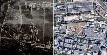#salvatipipera   Cum arata zona Pipera in 1918 si cum s-a schimbat in prezent